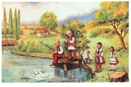 Діти - листівки та привітання, #144