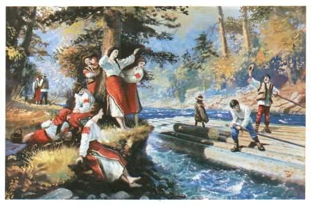 Краєвиди - листівки та привітання, #178