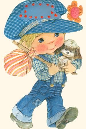 Діти - листівки та привітання, #186