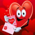 Листівка #1521 з розділу День Св. Валентина