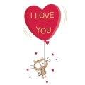 Листівка #1527 з розділу День Св. Валентина