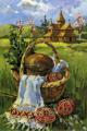 Листівка #1733 з розділу Великдень