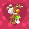 Листівка #2991 з розділу День Св. Валентина