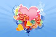 Листівка #2994 з розділу День Св. Валентина