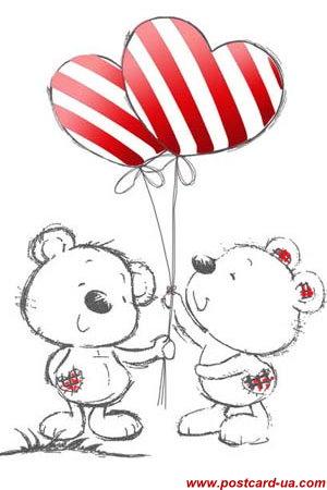 День Св. Валентина - листівки та привітання, #3448